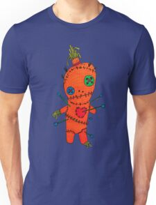 Bad A Witch VooDoo Doll Design Unisex T-Shirt