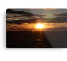 Gulf St Vincent sunset Metal Print