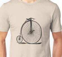 Penny Farthing Bicycle Unisex T-Shirt