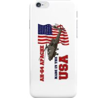 AH-64 Apache Made in the USA iPhone Case/Skin