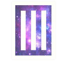 Universe Paramore Bars Art Print