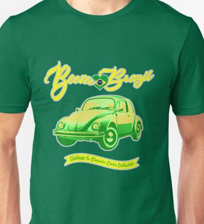 Beetle Loves Brazil Unisex T-Shirt