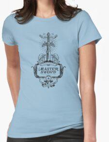 Legend of Zelda Master Sword Advertisement Womens Fitted T-Shirt