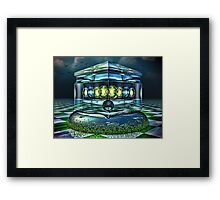 The Gold It's In The... Framed Print