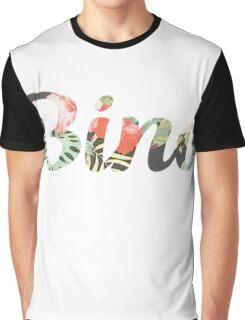 Childish Gambino 'Bino' Typography Graphic T-Shirt