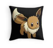 Eevee Throw Pillow
