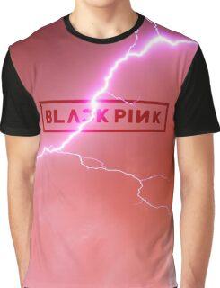 Black Pink - Lightning Graphic T-Shirt