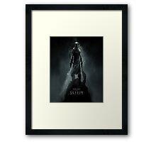 Skyrim Theme Framed Print