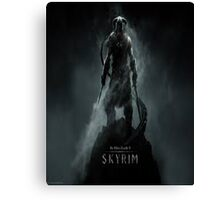 Skyrim Theme Canvas Print