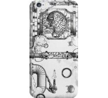 Vintage Metroid Mother Brain Engraving iPhone Case/Skin