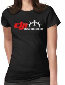 DJI inspire pilot black Womens Fitted T-Shirt