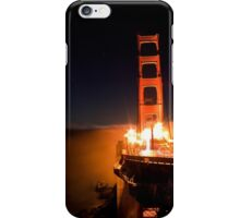 Good Night Golden Gate iPhone Case/Skin