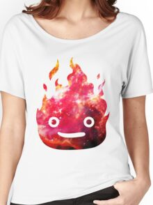 CALCIFER - Howl's Moving Castle Fire Women's Relaxed Fit T-Shirt
