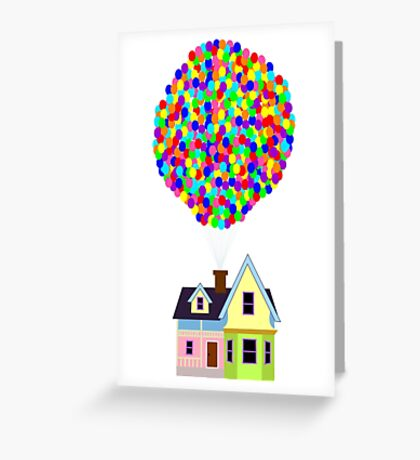 Up! House Greeting Card