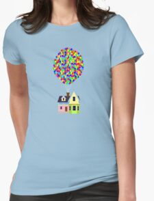 Up! House Womens Fitted T-Shirt