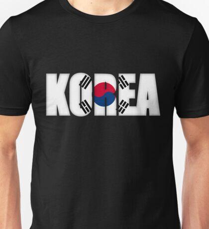 South Korea Flag Unisex T-Shirt