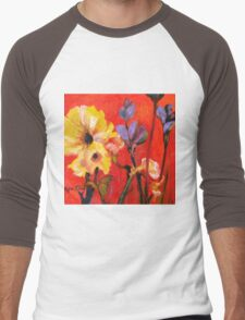 June Garden Men's Baseball ¾ T-Shirt