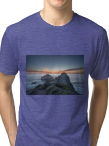 Sunset on the Coast Tri-blend T-Shirt