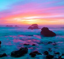Cotton Candy Sunset by ericmolyneaux