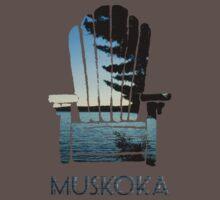 Muskoka Chair One Piece - Short Sleeve