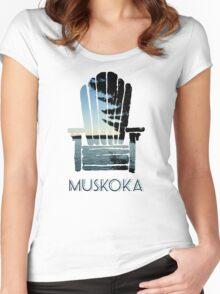Muskoka Chair Women's Fitted Scoop T-Shirt