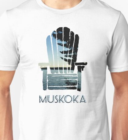 Muskoka Chair Unisex T-Shirt