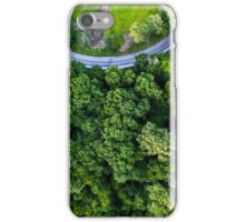 Top Down - Roads and Forest iPhone Case/Skin