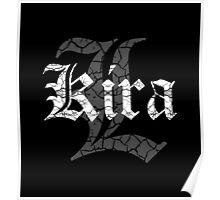 Kira and L Logo Poster