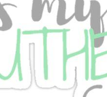 Kiss My Southern Sass Sticker