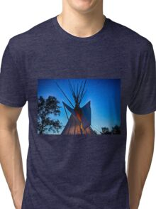 My Tipi Top Aglow  Tri-blend T-Shirt