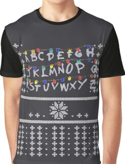 ST Lights Ugly Sweater Graphic T-Shirt
