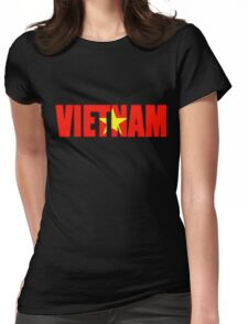 Viet nam Flag Womens Fitted T-Shirt
