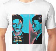 Stylized Frank Sinatra Mugshot Unisex T-Shirt