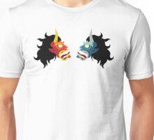 Hannya Masks Unisex T-Shirt