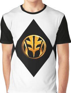 White Power Ranger Graphic T-Shirt