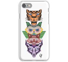 Animal Totem Pole iPhone Case/Skin
