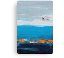 Freedom contemporary abstract art Canvas Print