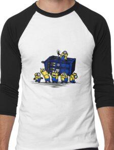 Time Steal - Doctor Who Mashup Men's Baseball ¾ T-Shirt