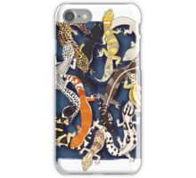 Gecko overdrive iPhone Case/Skin