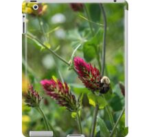 Red Clover Bumble Bee iPad Case/Skin