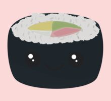 Smiling Sushi with Vegetables Kids Tee