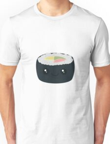 Smiling Sushi with Vegetables Unisex T-Shirt