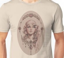 Young Lady in a Fancy Frame Unisex T-Shirt