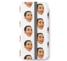 kim kardashian iPhone Wallet/Case/Skin