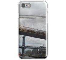 Brooklyn Bridge, Manhattan Bridge, East River, New York City iPhone Case/Skin