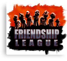 Friendship League Canvas Print