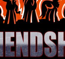 Friendship League Sticker