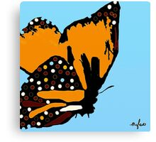 Welcome Autumn Butterfly #2 Canvas Print