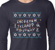 ST Lights Hanukkah Sweater Long Sleeve T-Shirt