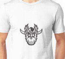 Norse God Odin Head Retro Unisex T-Shirt
